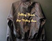 VINTAGE 1984 Talking Heads Stop Making Sense Tour Jacket