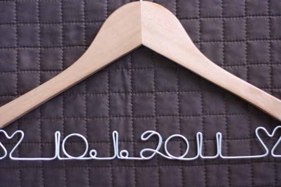 Replacement Custom Wedding Hanger for Carly Zimmer