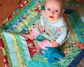 Drawstring Play Mat Pattern. Quilt and Carry Bag in One. PDF. Jelly Roll Friendly. Easy to Follow Instructions.