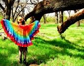 Rainbow Shawl/Skirt