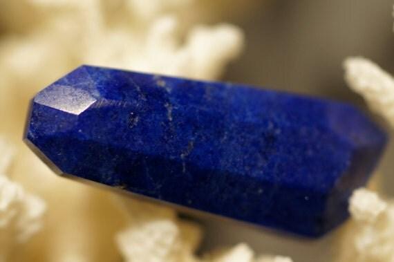 Lapis Lazuli cabochon 28x11x4.8mm Hand Cut Natural Gemstone Cabochon
