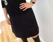 Ladies A line totally reversible Skirt (2 skirts in one)