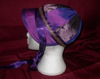 Regency Jockey Style  Bonnet