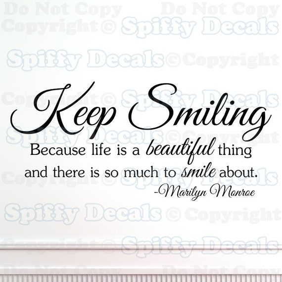 Quotes About Smiling: Keep Smiling Quotes. QuotesGram