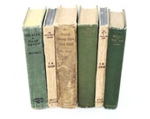 Shabby Chic  Book Collection 6 Interior Design  Green Beige Antique Pottery Barn Style Cottage Home Decor