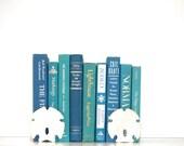Aqua Blue Book 9 Book Collection Ocean Inspired Decor