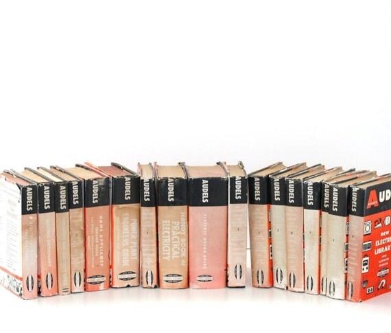 Audels 17 volumes Vintage Book set