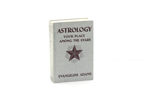 Vintage Astrology Book Grey decor Interior Design Your Place Among The Stars