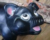 A. N. BROOKS black piggy bank