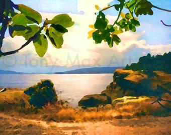 Hornby Island, west coast, Pacific Ocean, BC, British Columbia, Canada's west coast, Gulf Islands