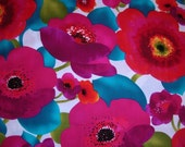 RESERVED for SHIBoRI onlYPoppy Punch Fabric, Michael Miller, 2 yds