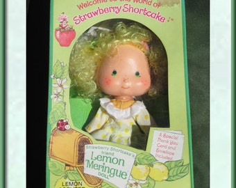 Lemon Meringue Doll - Mint In Box