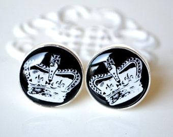 King of love cufflinks by White Truffle Studio - keepsake gift