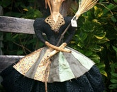 Another One-of-a-kind Primitive Foo Foo Witch Make-Do