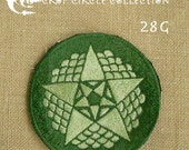 Sacred Geometry Crop Circle Patches - Crop Circle Collection (28G)