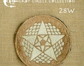 Sacred Geometry Crop Circle Patches - Crop Circle Collection (28W)