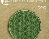 Sacred Geometry Crop Circle Patches - Flower of Life Patches - Crop Circle Collection (30G)