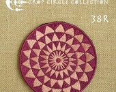 Sacred Geometry Crop Circle Patches - Crop Circle Collection (38R)