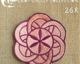 Sacred Geometry Crop Circle Patches - Crop Circle Collection (26R)