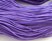 25 metres of Purple Elastic String for beading