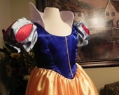 """Snow White Gown. Teens to Adult sizes up to 40"""" chest."""