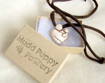 Mother & Baby Pendant - Toddler - Sling or Wrap - Ready to Ship