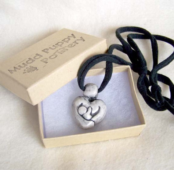 Mother & Baby Pendant - Nursing - Ready to Ship or Made to Order