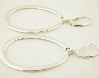 Sterling Silver Lever Back Earrings 33