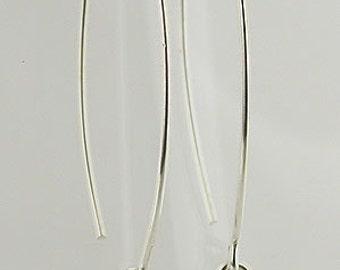 Garnet Sterling Silver Earrings 23