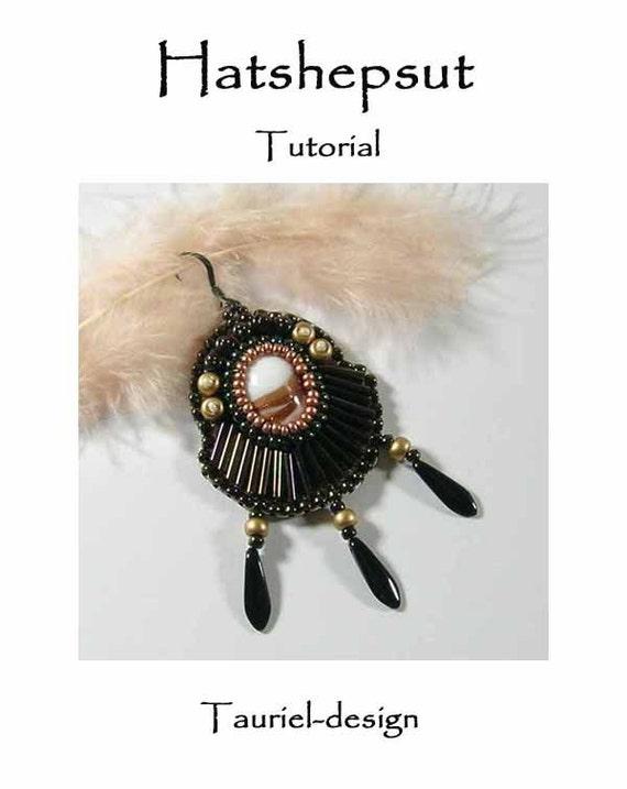 Hatshepsut Earrings - tutorial