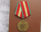 Vintage  Medal from  1980's,  Military steampunk supplies