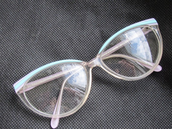 Vintage eyeglasses with glass lenses