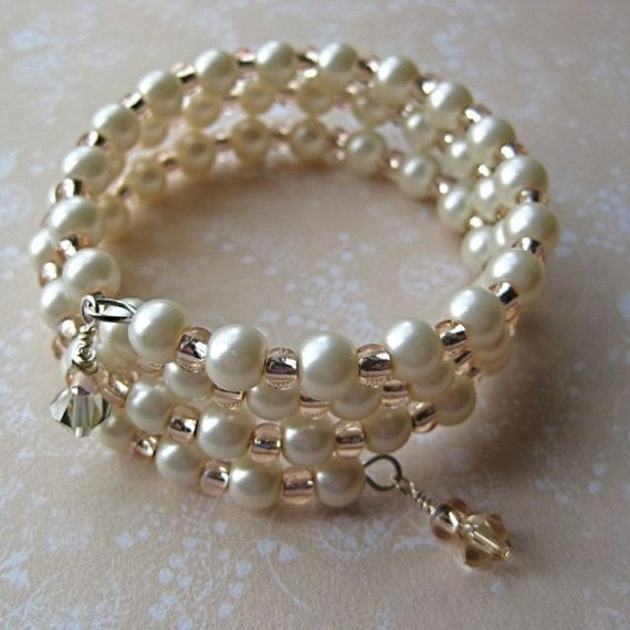 Ivory Pearl Bracelet for small wrist