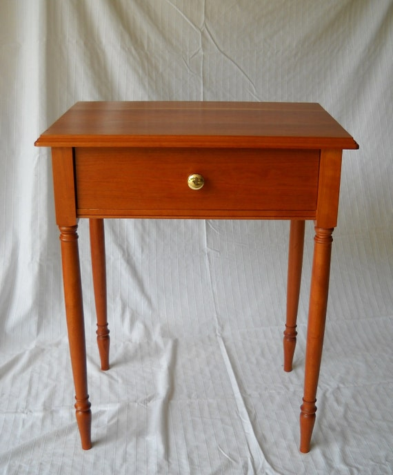 Sheraton solid cherry nightstand