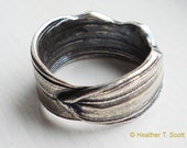 Mitsuro Ring - Recycled Silver - Men's size 11.5 - Ko'olau Mountains