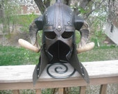 Barbarian Helmet RESERVED for Ulfdan