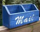 Rustic Mail Organizer