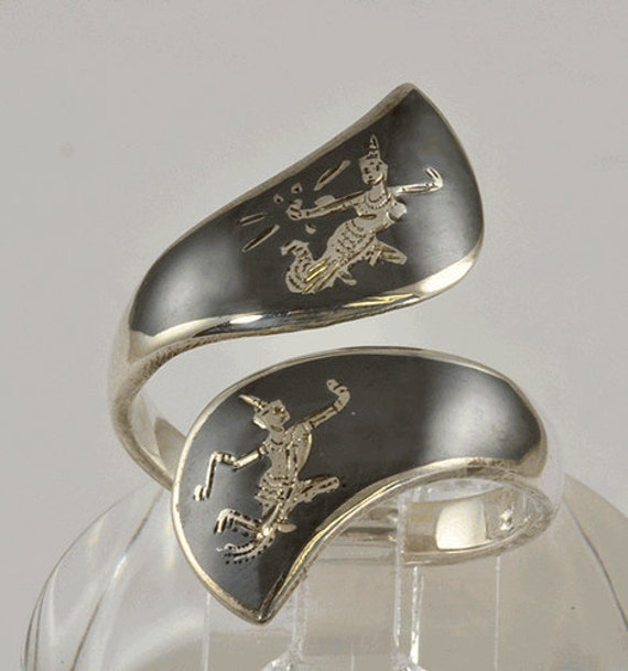 Vintage Siam Sterling Silver Ring