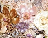 Brooch bouquet deposit listing custom order Bouquet fabricated to your specifications in our Bouquet Atelier
