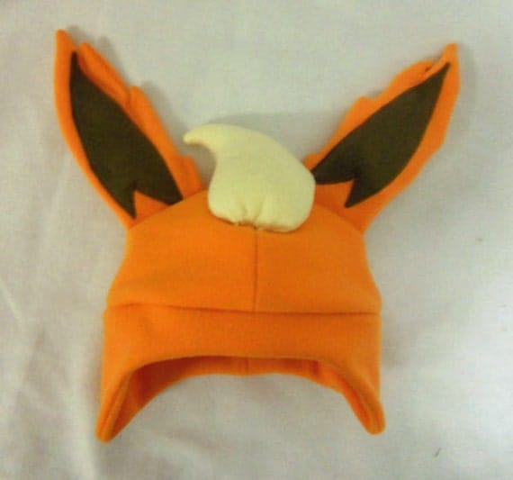 glaceon fleece hat by - photo #36