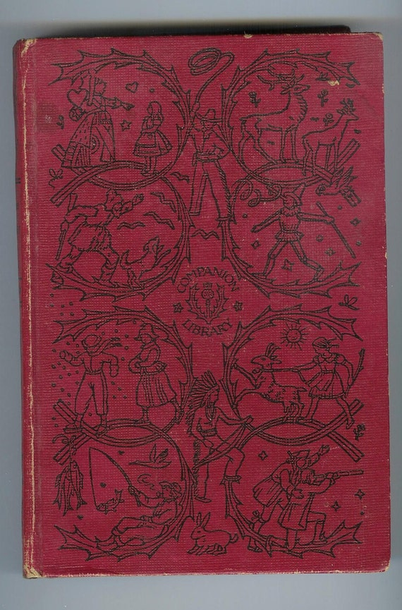 Old Hard cover Book- The Adventures of Huckleberry Finn by Twain-Companion Library 1918