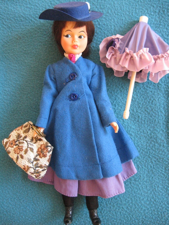Vintage 1964 Horseman Mary Poppins Doll