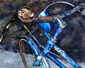 """She Once Was a Beauty - Greeting Card (5"""" x 7"""") -  BikeLoversAlley, by Mattie O."""