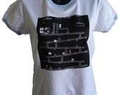 Donkey Kong Youth female white T shirt