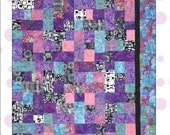 Easy Peasy Quilt .pdf Pattern by Cool Cat Creations