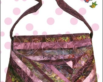Jelly Roll friendly Bag/Purse Pattern by Cool Cat Creations