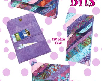 Little Bits Wallet Pattern with Change Purse and Glasses Case