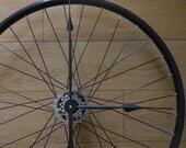 UpCycled Mountain Bike Wheel Bicycle Wall Clock