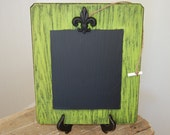 Black Friday Etsy Flat Shipping Rate 5.00 Green Shabby Chic Chalkboard