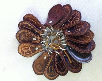 Jane - Leather Key Chain